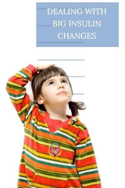 big insulin changes in children Diabetes Advocacy