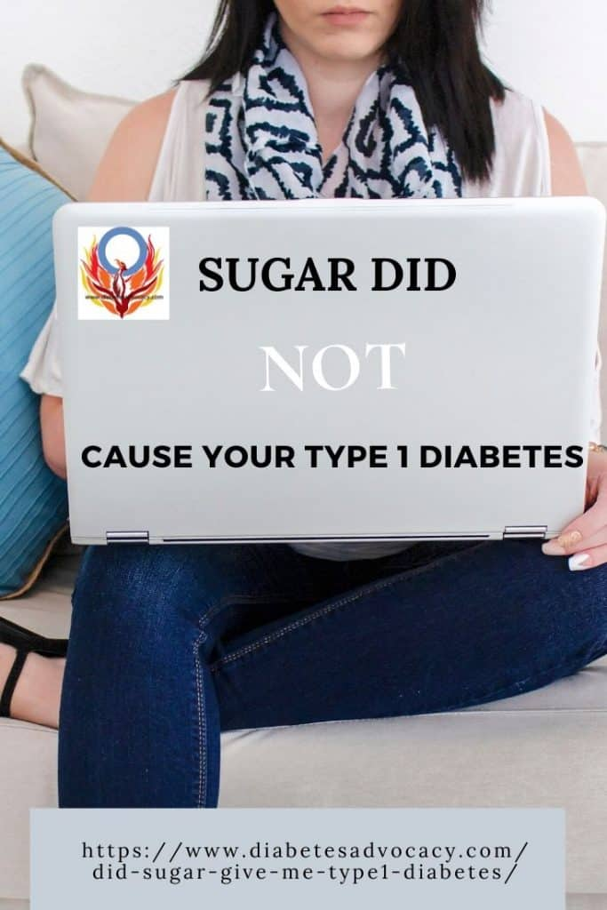 sugar did not cause your diabetes