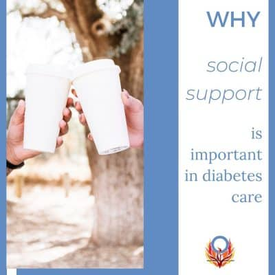 Why social support is important in diabetes care