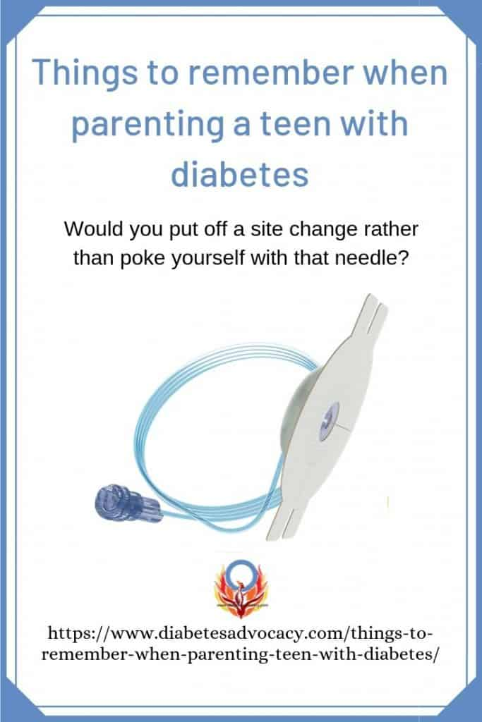 parenting a teen with diabetes