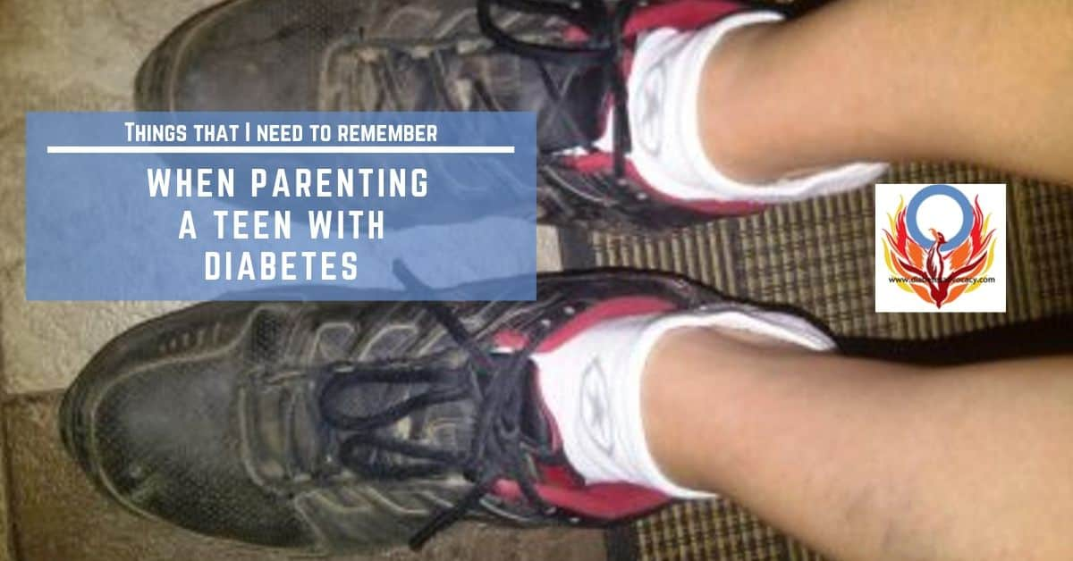 Things to remember when parenting a teen with diabetes