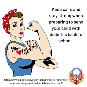 preparing for back to school with diabetes. Diabetes Advocacy