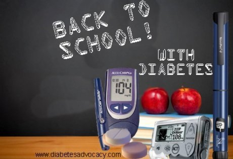 Preparing for a new school year with diabetes