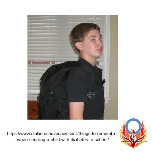 empower your child with diabetes before they go back to school. Diabetes Advocacy