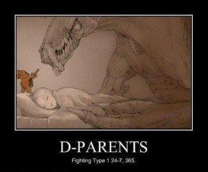 parents of children with diabetes