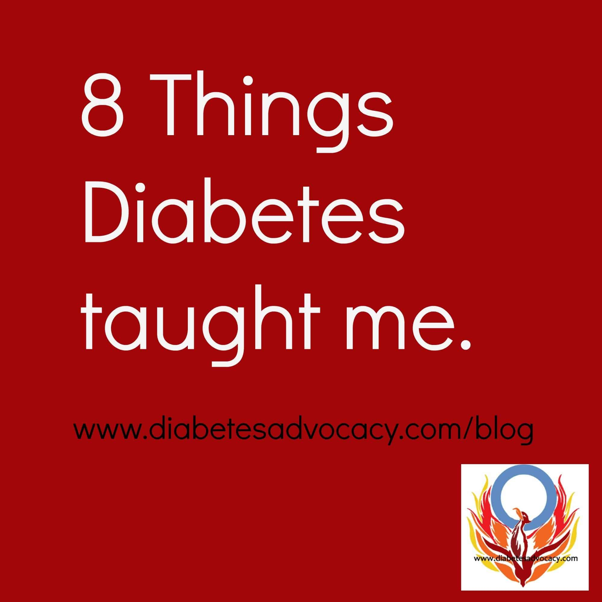 The 8 things that diabetes has taught me… A satirical look at diabetes myths