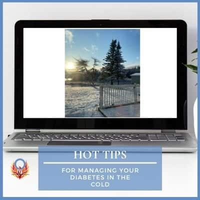 tips for managing diabetes in the cold