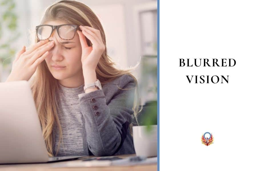 blurred vision can be a sign of high blood sugars. Diabetes Advocacy