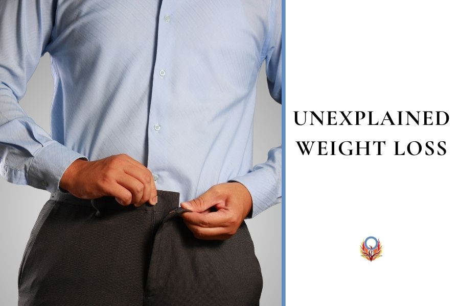 unexplained weight loss can be a sign of diabetes