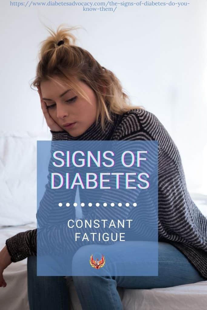 signs of diabetes
