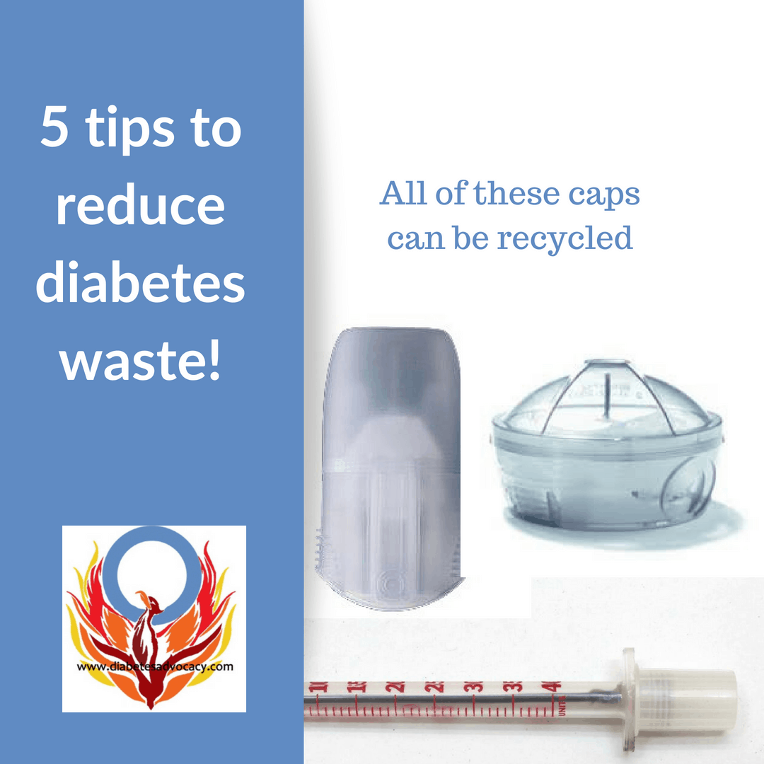 How to reduce diabetes waste