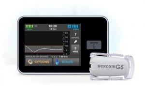 t:slimX2 insulin pump