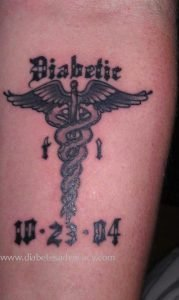 diabetest tattoo