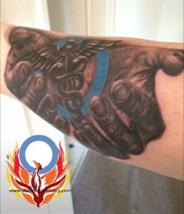 hands holding diabetes circle tattoo Diabetes Advocacy