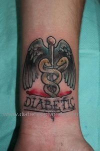 Jakes diabetes tattoo