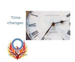 time changes