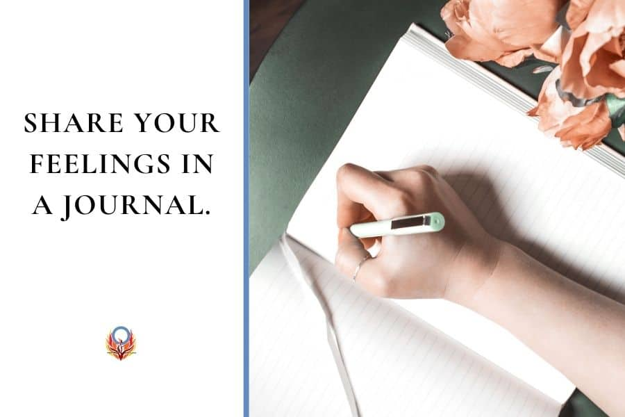 journal about your concerns