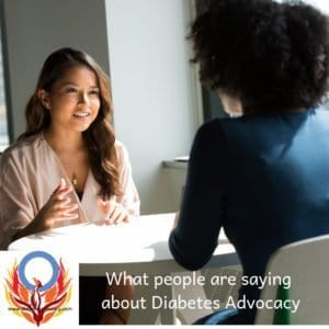 what people are saying about Diabetes Advocacy