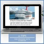 10 Tips for Cruising with Type 1 Diabetes