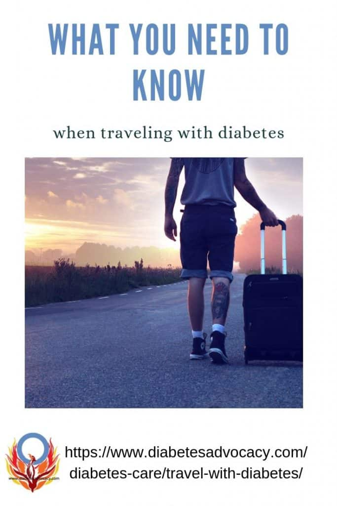 travel with diabetes pin