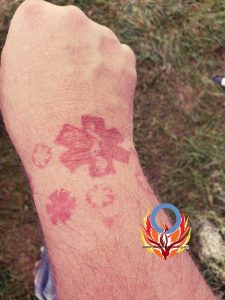 Diabetes wrist tattoo