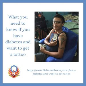 what you need to know if you want to get a tattoo with diabetes
