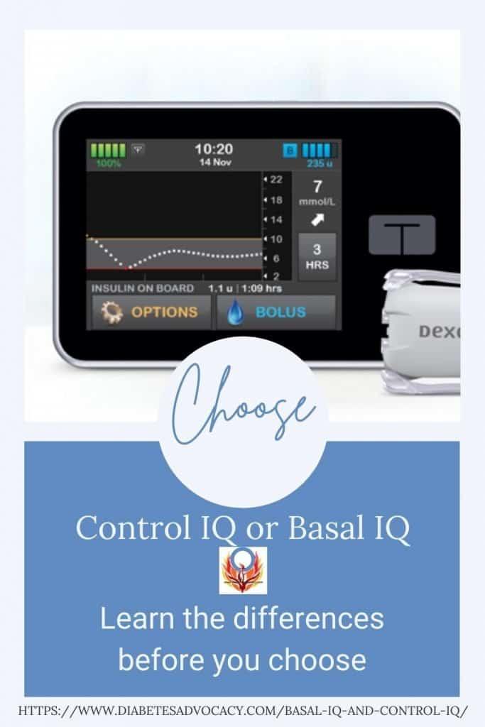 Basal or Control IQ