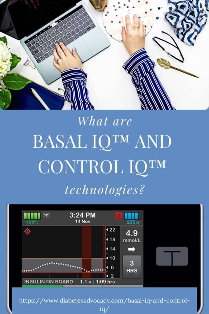 Basal and control IQ Diabetes Advocacy