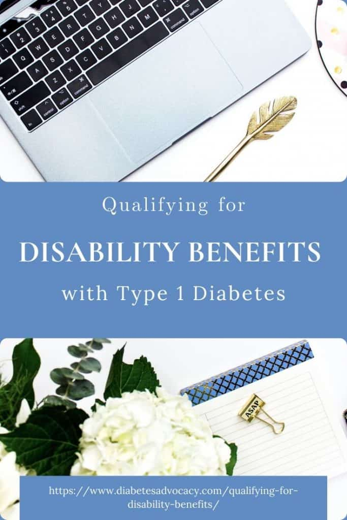 qualifying for disability benefits Diabetes Advocacy