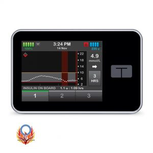 tSlimX2 insulin pump with basal IQ