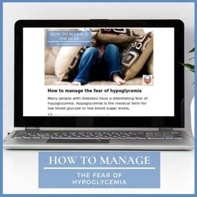 managing the fear of hypoglycemia