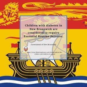 New Brunswick School policy