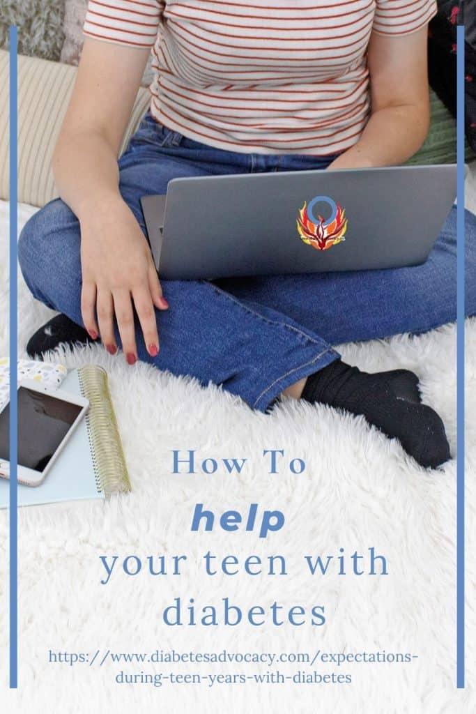 Understanding what your teen with diabetes is experiencing