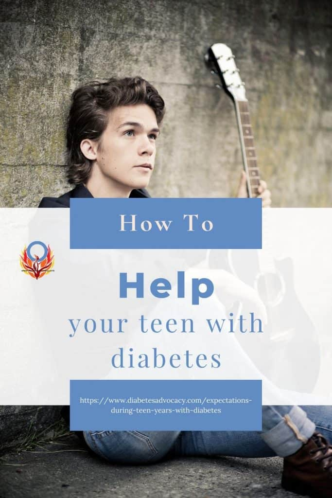 How to help your teen with diabetes. Understanding what they are thinking.