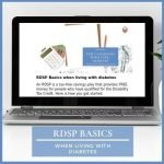 RDSP Basics when living with diabetes
