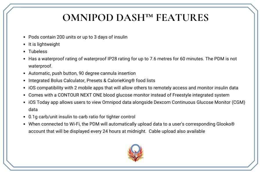 DASH features