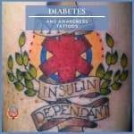 Diabetes and Awareness Tattoos