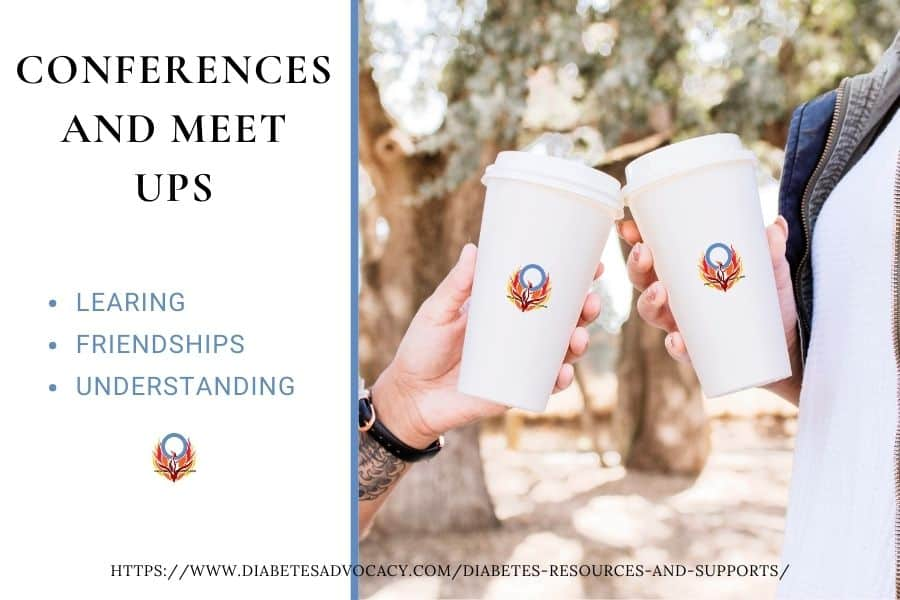 conferences and meet ups