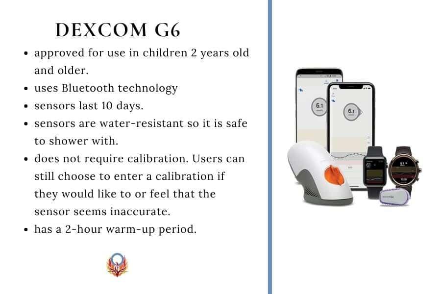 Dexcom G6 features