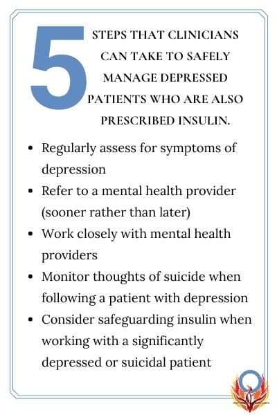 5 things clinicians can do to help depressed patients with diabetes